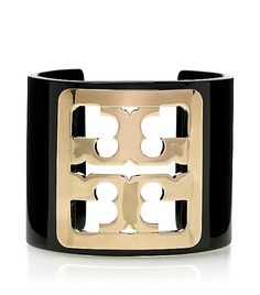 We think this bracelet would turn any blouse, dress or even Tee into a Statement!  @Tory Burch $145