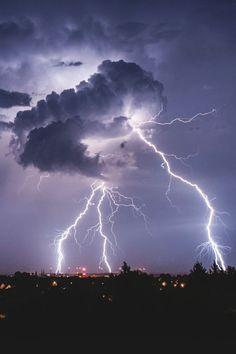#storm #youarethestorm #lightning #clouds