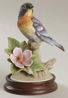 SadekParula Warbler Porcelain Figurine