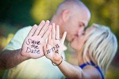 Cute Save the Date idea...