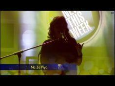 Lavanya Padmanabhan LIVE performs on Na Ja Piya   New This Week