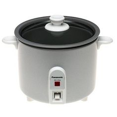 Panasonic SR-3NAS Mini Rice Cooker. Panasonic SR-3NAS Brand New Includes One Year Warranty, The Panasonic SR3NAS Mini Rice Cooker features an automatic cooking function, and is perfect for cooking small quantities of rice. The nonstick coated pan means easy cl.. . See More Crock Pots and Cookers at http://www.ourgreatshop.com/Crock-Pots-Cookers-C273.aspx
