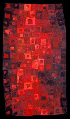 Janet Kurjan  Blood and Oil quilt