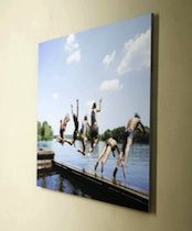 Unique Photo Mounting To Acrylic/Plexi, Aluminum, Bamboo & Foam - SO cool! TOTALLY doing this!