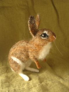Needlefelted rabbit