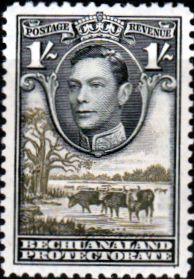 Postage Stamps Bechuanaland 1938 SG 125 Kings Head Fine Mint SG Scott 131 Stamps For Sale Take a Look
