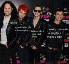My Chemical Romance- frank Iero. Gerard Way. Ray Toro. Mikey Way