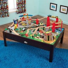Brio Compatible 16517: Kidkraft 17976 Airport Express Train Set And Table 17976 -> BUY IT NOW ONLY: $138.99 on eBay!