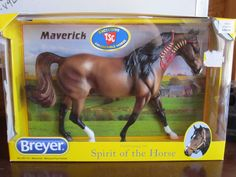 TSC 2014 Maverick BREYER Spirit of the Horse Missouri Fox Trotter Collectible in Collectibles, Animals, Horses: Model Horses Trotter, Missouri, Fox, Spirit, Horses, Baseball Cards, Model, Animals, Collection