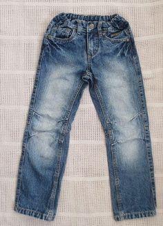 Kaufe meinen Artikel bei #Mamikreisel http://www.mamikreisel.de/kleidung-fur-jungs/jeans/33247991-blaue-jeans-fur-jungs-gr-122