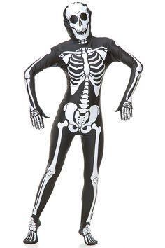 Skeleton Bodysuit - Adult