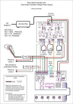 wiring diagram slot cars pinterest diagram, slot and slot car Slot Car Power Supply google image result for picprojects org uk projects