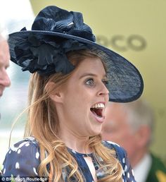 dailymail: Royal Ascot 2016, Day 4, June 18, 2016-Princess Beatrice