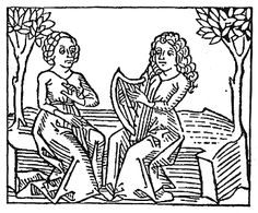 Medieval woodcut: click on image to see larger view