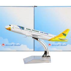 Philippines Cebu Pacific Air AIRBUS A320 Airplane Model (1:400)