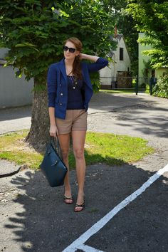 natalie's style: LOOK OF THE DAY: Leather shorts