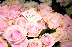 Good morning from #Paris. Wake up & smell the roses–they're French! ♥