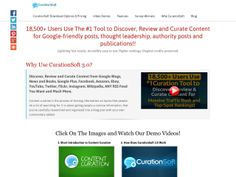 ① Curationsoft Content Curation Software - http://www.vnulab.be/lab-review/%e2%91%a0-curationsoft-content-curation-software-2