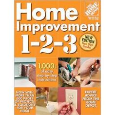 Home Depot Book- love it! Nobody was electricuted during the installation of an outlet, and the wainscot was a success!
