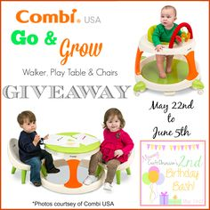 Combi Go & Grow Giveaway ~ Ends 6/5 - mama pure