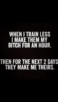 Fitness Motivation Funny Humor Quote --- this made me laugh more than it should've