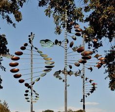Kinetic garden sculpture - Bing Images