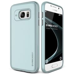 Original VRS Design Samsung Galaxy S7 Handytasche in der Single Fit Edition Galaxy S7 Flip Case Cover Ice Mint: Amazon.de: Elektronik 18,90€