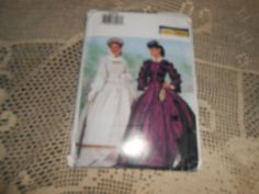 Butterick P205 Southern Belle Costume Sewing Pattern Size  18-20-22 NEW UNCUT…
