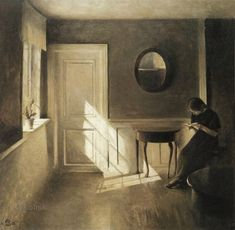 """Impressions more knowledge ...» - /Peter Vilhelm Ilsted (Danish, 1861-1933)"