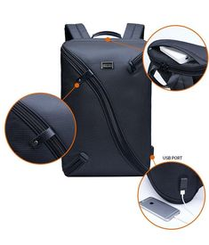 NEW ARRIVAL - Ultra Light Multifunctional USB Charging 15inch Leisure Fashion Laptop Backpack