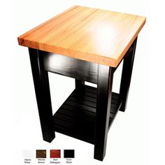 butcher blocks, moro kitchen, kitchen tables, chairs, bradley brand, condo kitchen, brand furnitur, kitchen islands, black