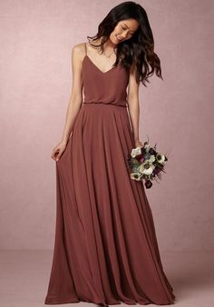 BHLDN (Bridesmaids) Inesse Dress - Cinnamon Rose Bridesmaid Dress - The Knot