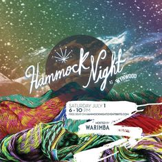 W A R I M B A (@warimbapeople) on Instagram: To all our beloved #warimbapeople we are pleased to announce we will start July with the best #hammocking vibes . Hammock Night will take place on Saturday July 1 at @wynwoodyard from 6 to 10 PM #HammockNight is a space created by WARIMBA so that all the Miamians come chill in our hammocks and listen to the fun live music that as usual surrounds the atmosphere of the Wynwood Yard