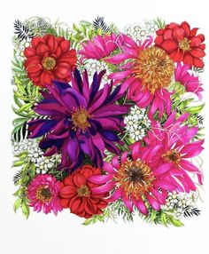 Floribunda: A Flower Coloring Book: Leila Duly: 9781780677682: Amazon.com: Books