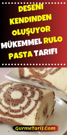 Pattern Self-made Roll Cake Recipe - Kuchen Casserole Recipes, Pasta Recipes, Cake Recipes, Christmas Brownies, Homemade Brownies, Cream Cake, Popular Recipes, Yummy Food, Chocolate
