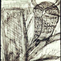 Desenho de caneta Bic.