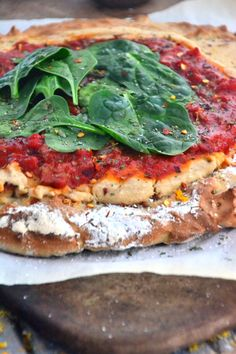 Gluten-Free & Dairy-Free Margherita Pizza TheHealthyApple.com #glutenfree #recipe #healthy