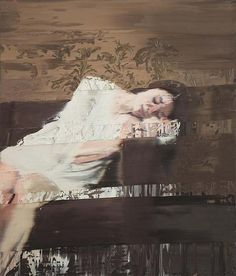 """Under My Skin - Paintings by Andy Denzler. These paintings by Andy Denzler are part of the series """"Under My Skin"""". The Swiss artist creates stunning Glitch Art, Zurich, Another Day In Paradise, Portraits, Contemporary Paintings, Figure Painting, Figurative Art, Lovers Art, Painting Inspiration"""