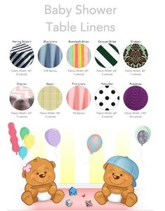 on pinterest table linens tablecloths and baby shower table
