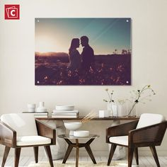 Our incredibly detailed Acrylic Prints are printed at 1400 DPI for high-color resolution. The 3-D effect that is created through the printing process will have you thinking you're looking straight into a window to the past. Click here to take a trip back in time while you create your custom Acrylic Print. Acrylic Table, Acrylic Canvas, Acrylic Photo Prints, Create Collage, Epson Ink, Print Your Photos, Acrylic Display, Visual Display, Custom Glass