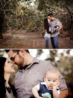 Outdoor Infant Photography