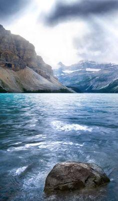 Sunbeams at Banff National Park in Alberta, Canada • Dominic Kamp Photography
