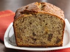 Banana Bread - my favorite basic recipe. It tastes great and the loaf releases easily from the pan after baking. I omit the nuts since my family doesn't like them.