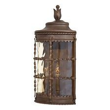 Minka Lavery Outdoor 8887-A61 Mallorca Spanish Forged Wrought Iron Wall Light