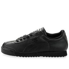 Puma Roma Basic Mens 353572-17 Black Athletic Shoes Sneakers Trainers Size 10