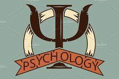 Psychology. logo for a psychologist. by pashigorov on @creativemarket