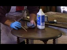 How to Repair Scratches on a Wood Table : Furniture Repair Tips - http://www.thehowto.info/how-to-repair-scratches-on-a-wood-table-furniture-repair-tips/