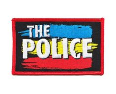 The Police Band Iron on Patch - Red, Yellow, & Blue Streak Rainbow Design Applique C&D http://www.amazon.com/dp/B00IDD76B2/ref=cm_sw_r_pi_dp_Amouwb0DWMCNV