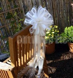 Wedding Pew Bows | Decorations Tips, Wedding Pew Bows Diy: Pew Decorations for Wedding