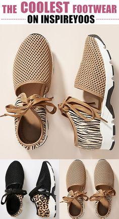 Korean Fashion American Sizes Women Fabric Mesh Lace-up Hollow-out Zebra/Leopard Sneakers.Korean Fashion American Sizes Women Fabric Mesh Lace-up Hollow-out Zebra/Leopard Sneakers Sneakers Fashion Outfits, Mode Outfits, Fashion Shoes, Leopard Sneakers, Ugg Boots, Shoe Boots, Shoes Sandals, Cute Shoes, Me Too Shoes